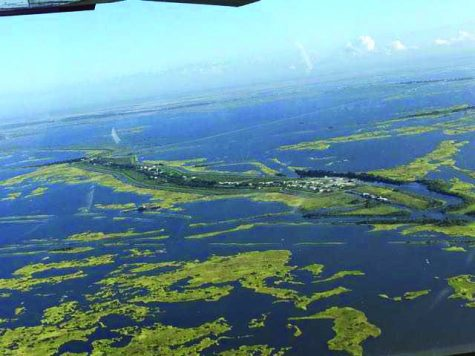 Isle de Jean Charles has lost 98 percent of its land since 1955. Residents of the island, members of the Biloxi-Chitimacha-Choctaw, have become climate refugees amid increasing land loss in the region.