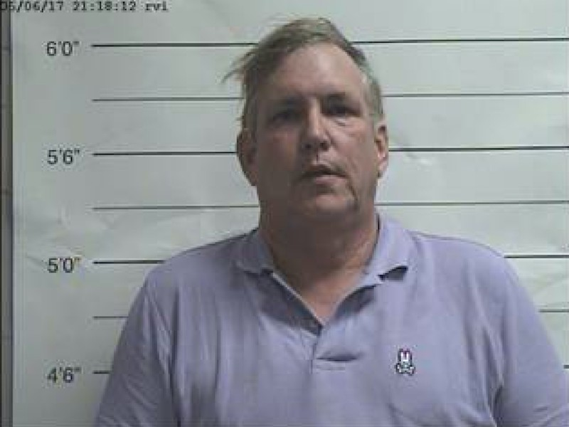 Frank Scurlock was charged with assault three months after the alleged masturbation when he aggressively approached a policeman in front of a Confederate monument.