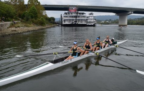Row Wave: Tulane Rowing competes at Chattanooga Head Race