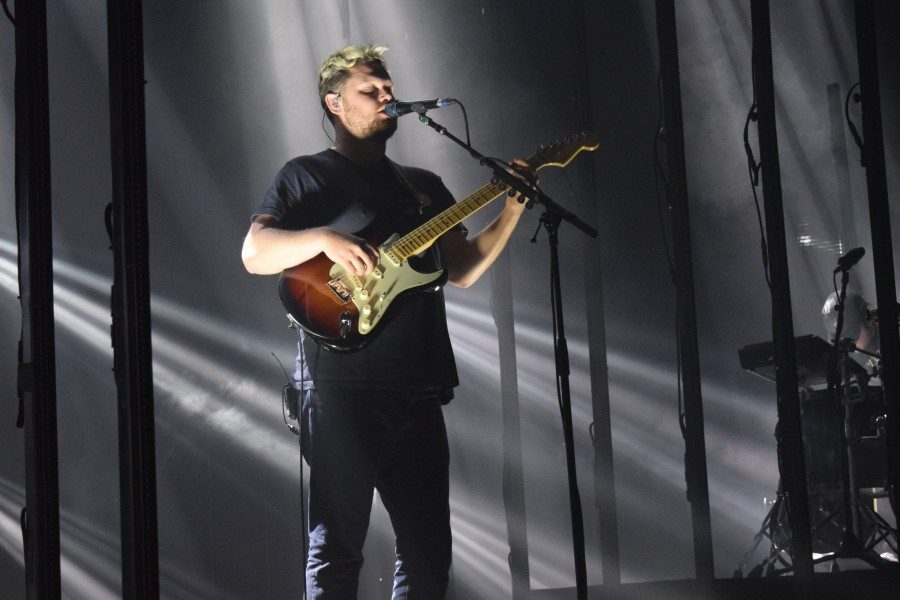 alt-J+surveyed+hits+from+their+three+albums%2C+satisfying+the+crowd%27s+wildest+desires.+The+group+began+as+a+quartet+and+now+tours+as+a+trio.