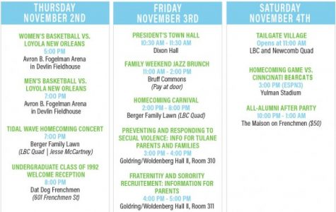 Homecoming Week includes fun, family-friendly events