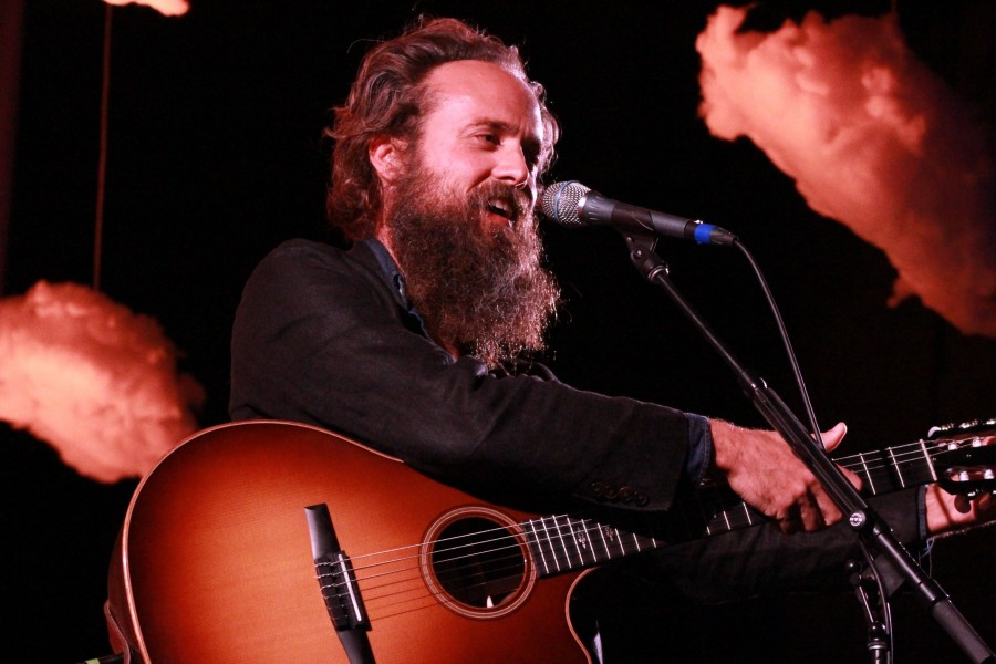Sam Beam fronts Iron & Wine as the lead singer-songwriter. The musician joked with the audience throughout the concert.