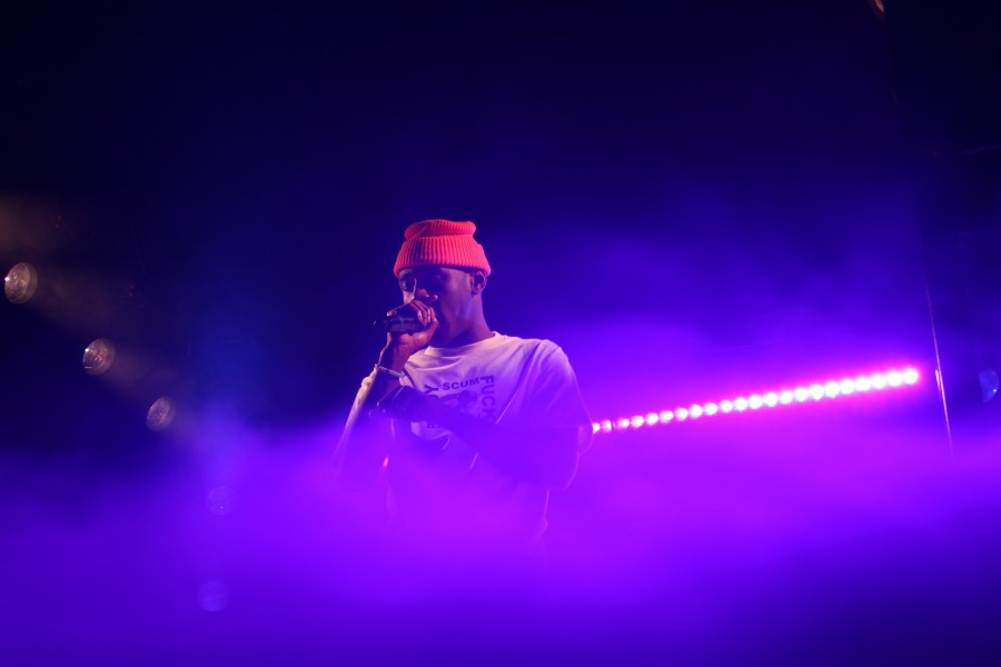 Tyler, the Creator performs a mix of new and old songs at his Nov. 20 show at Joy Theater.