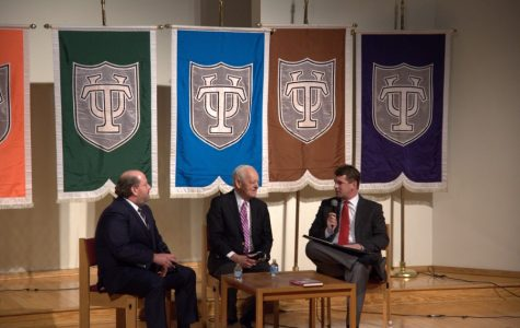 Bob Schieffer, H. Andrew Schwartz examine issue of fake news, media overload