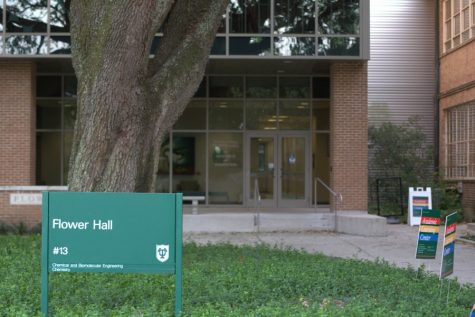 Flower Hall will soon house much of Tulane's School of Science and Engineering.