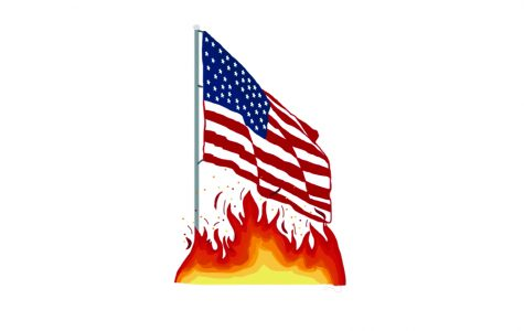 Flag burning prohibition presents contradiction for freedom of speech