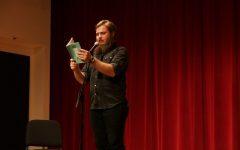 Slam poet Neil Hilborn bares soul to promote mental health destigmatization