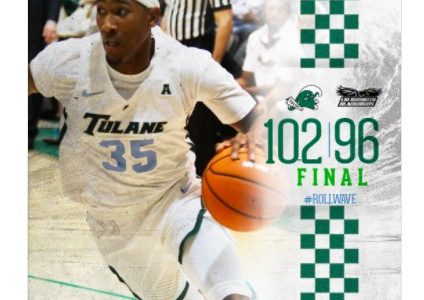 Green Wave basketball starts off season with win against LIU Brooklyn Friday night