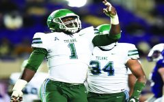 Green Wave football clinches win over ECU