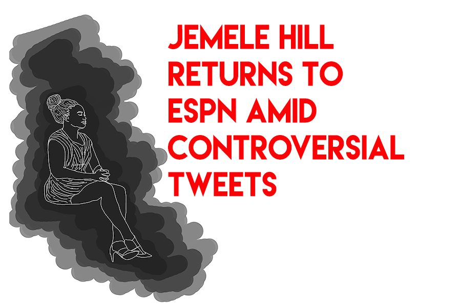 Jemele+Hill+returns+to+ESPN+amid+controversial+tweets