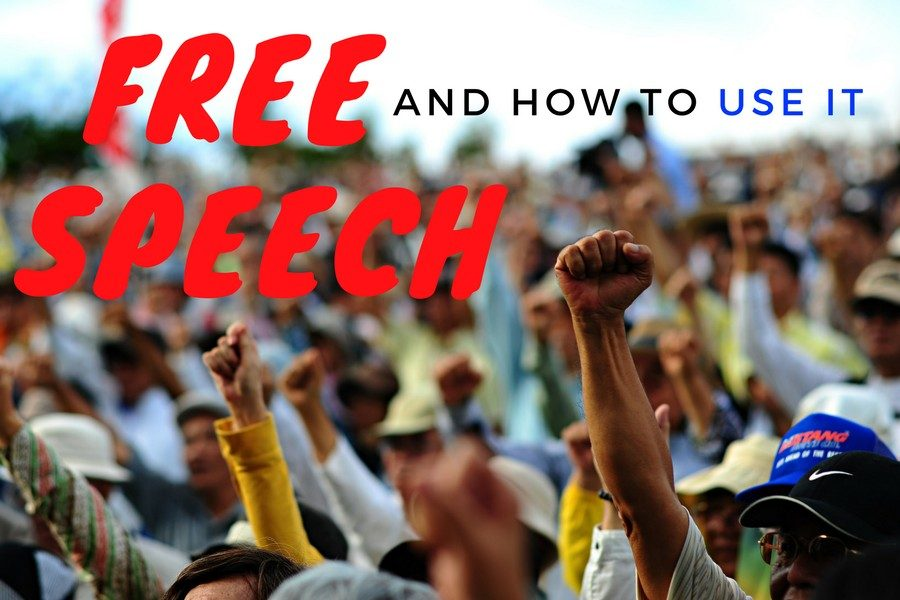 Students should work to protect freedom of speech for all