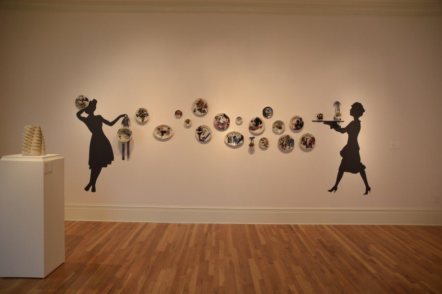 Newcomb Art Museum currently has two exhibits with clay as the primary medium on display.
