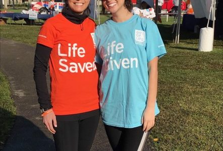 Student Zoe Miller gives life-saving stem cell donation