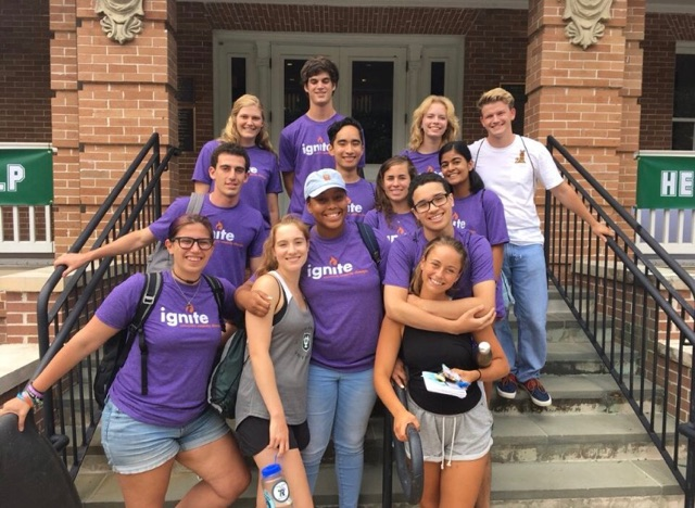 Students in the class of 2021 participated in the Ignite Explore program.