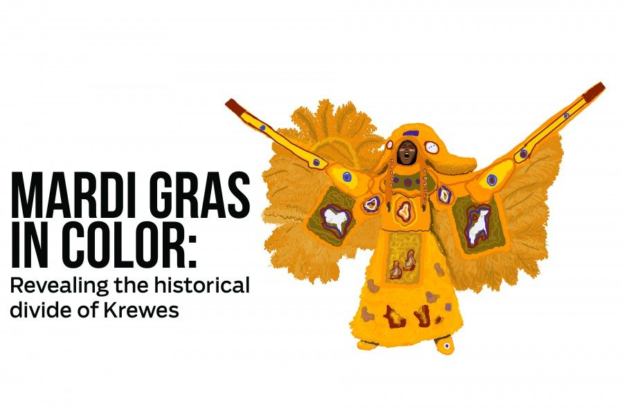 Mardi Gras in color: revealing the historical divide of krewes