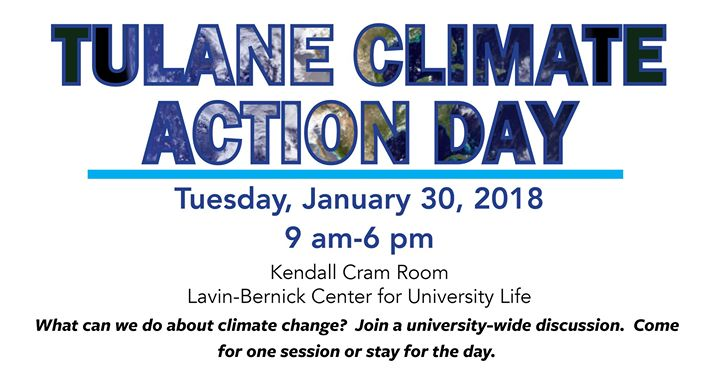 Tulane to host first ever Climate Action Day