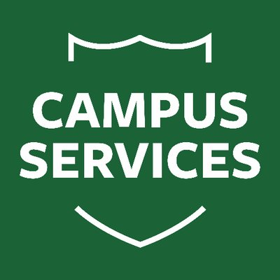 The new Campus Services organization opened two new offices and changed their logo and uniforms.