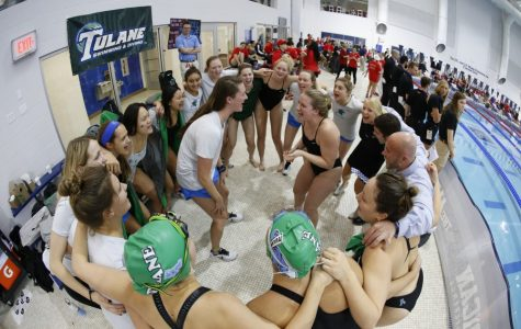 Making a splash: Tulane swimming earns six medals in American Conference Championship