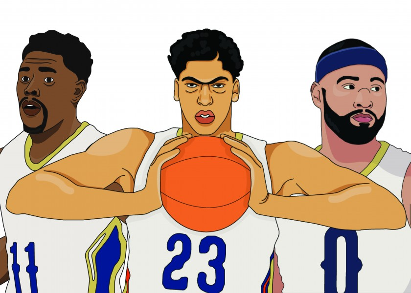 Nba New Orleans Pelicans Take Part In Celebrating Black