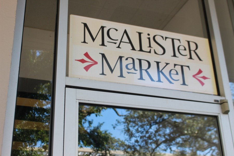 McAlister Market profits are allocated to student organizations.
