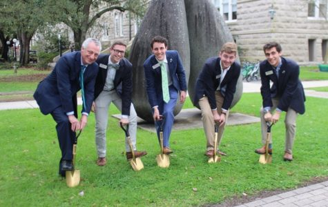 USG breaks ground on outdoor classroom project