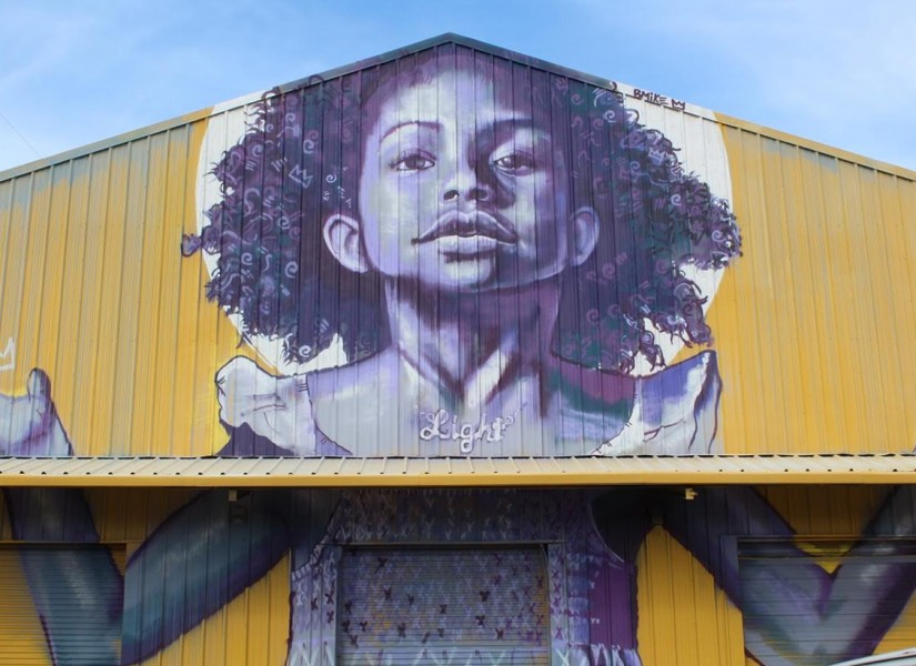 Studio Be, a 35,000 square foot warehouse in the Bywater, is the latest project by artist and activist Brandan Odums.
