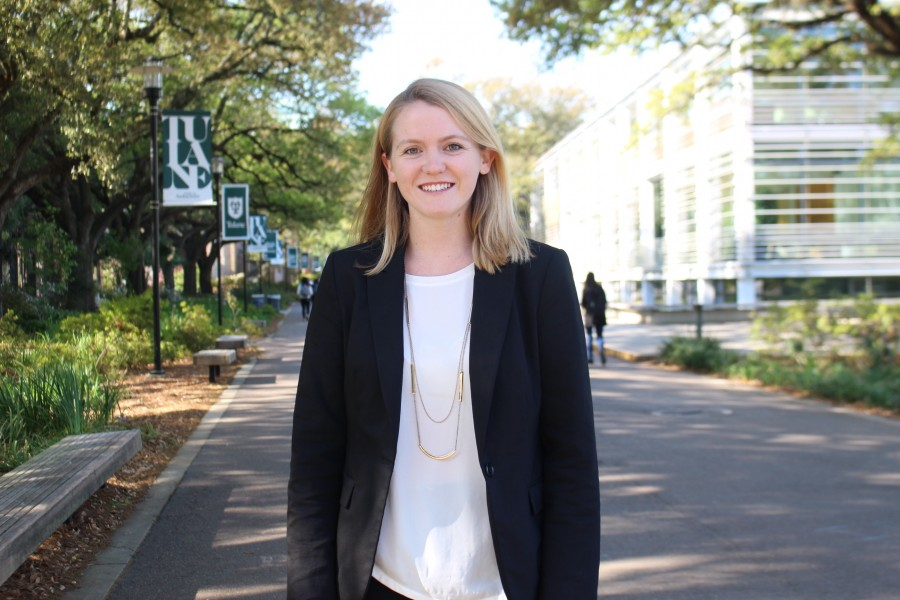 Erin Blake currently serves as the USG Executive Vice President. She was elected President for the 2018-19 academic year.