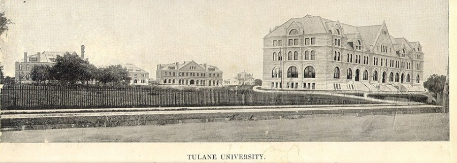 Gibson Hall, Hebert Hall and  the Richardson Building were the first buildings constructed on the Gibson Quadrangle.