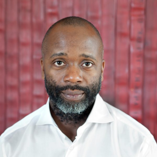 Theaster Gates spoke at a NewDay Speaker event hosted by the Taylor Center on March 5.