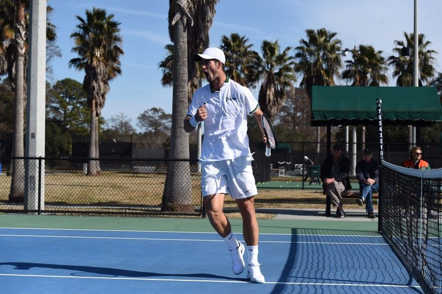 Tulane's Constantin Schmitz has proven to be quite the competitor this season. The senior now has eight AAC Player of the Week awards under his belt.