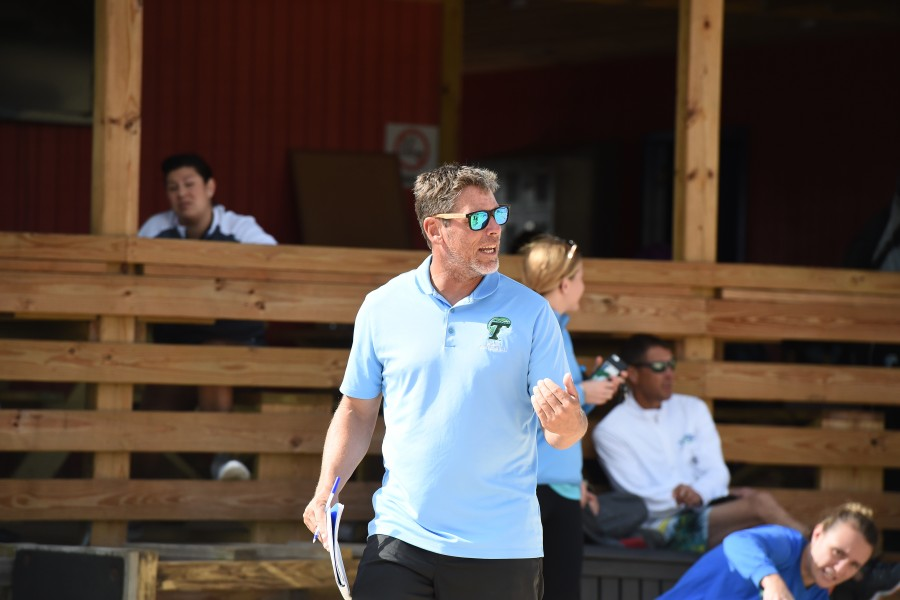 Tulane coach Wayne Holly led his team to two victories in the Surf 'N' Turf tournament. The team will quickly return to action with the upcoming Green Wave Invitational.