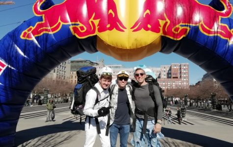 Tulane seniors wing it in Europe during Red Bull race