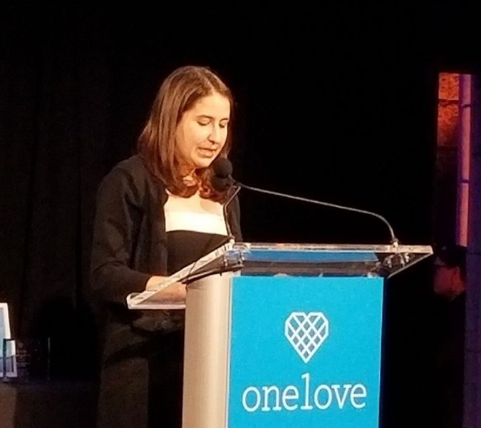 One+Love+co-president+Rachel+Blume+wins+national+recognition+for+her+dedication+to+the+cause.++