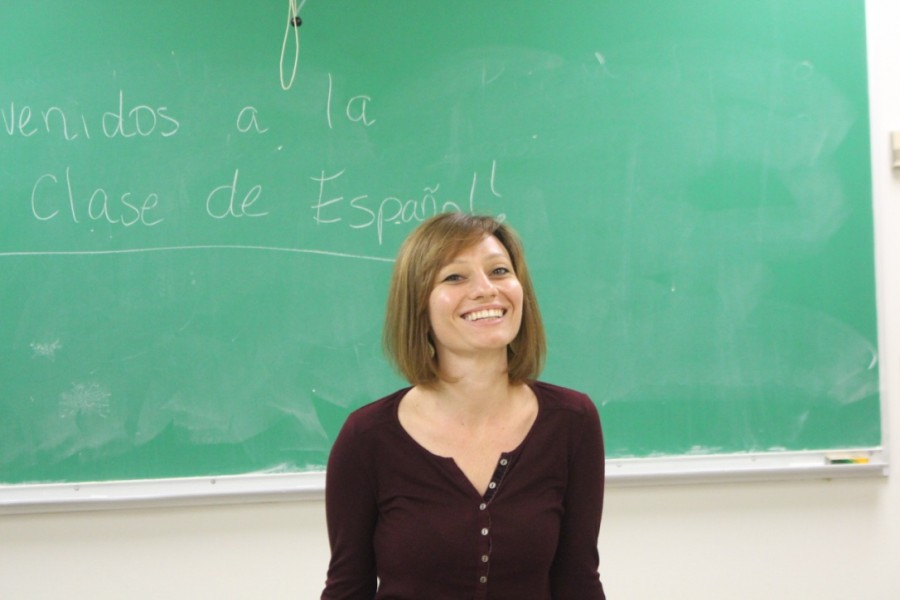 Professor Lisa Vigran teaches Spanish at Tulane as an adjunct lecturer.
