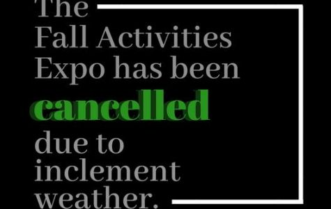 Activities Expo canceled due to inclement weather