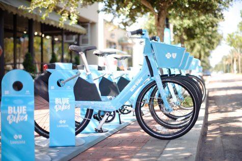 blue bikes