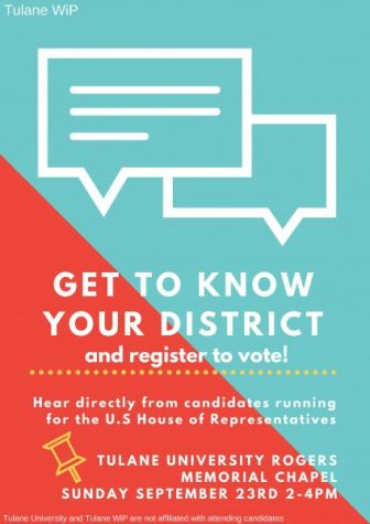 Louisiana's First Congressional District Candidates to come to Tulane for panel discussion