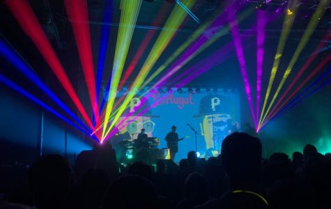 Portugal. The Man delivers entertaining show at Sugar Mill