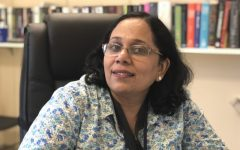 Dr. Vijayaraghavan, or Dr. V, discusses how she found her passion for science as a girl in India