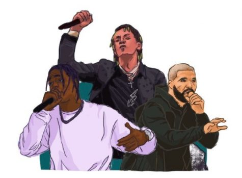 Rappers Rich Tha Kid, Lil Uzi Vert, and Drake