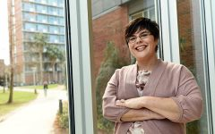 Credit where credit is due: Accounting professor Christine Smith provides students with the right assets to succeed