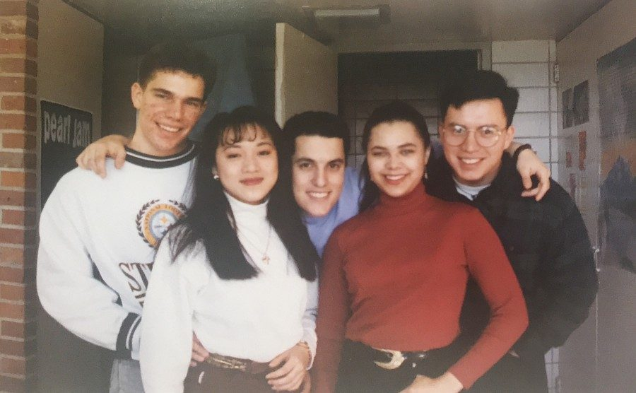 Tulane students circa 1994