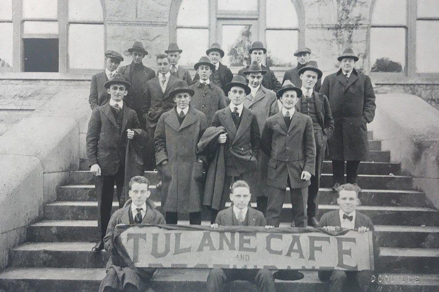 Tulane+students+circa+1919