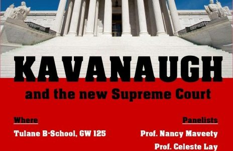 "Phi Alpha Delta hosts ""Kavanaugh and the new Supreme Court"" panel"