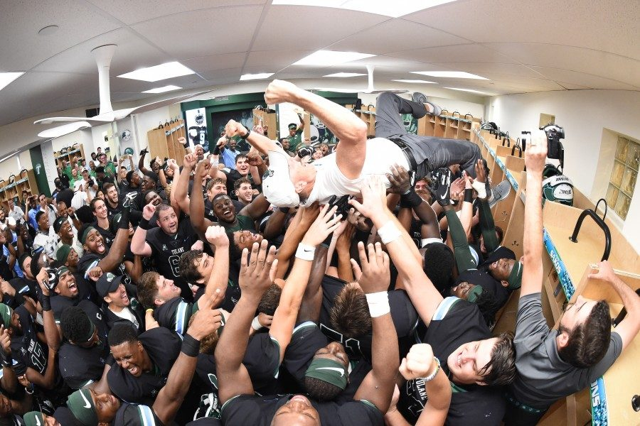 Courtesy of Parker Waters and Tulane Athletics