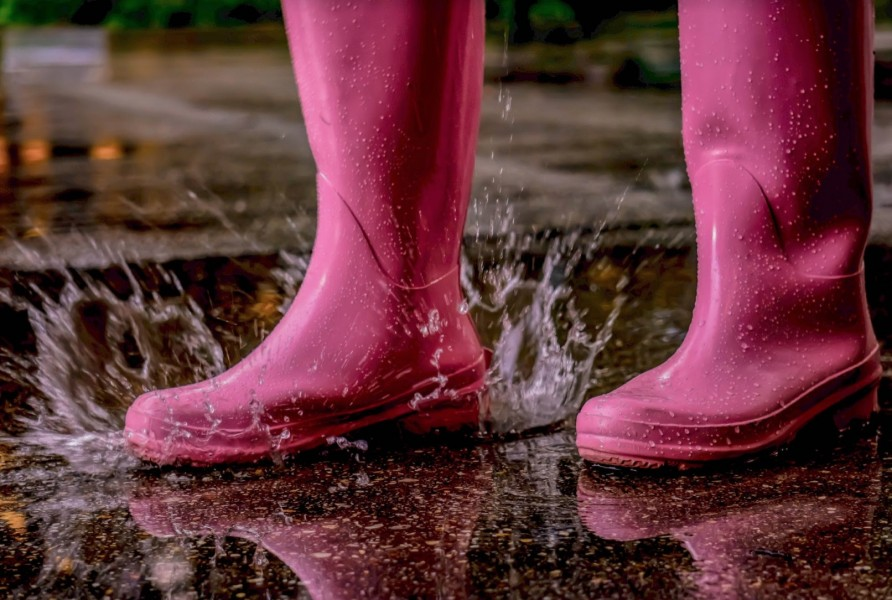 Trekking through the rain can be tough between classes. Make sure you are prepared each day for a random downpour.
