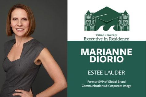 Marianne Diorio will offer career insight in campus lectures Oct. 8 and 9.