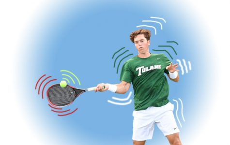 Tulane tennis tousles at third tournament