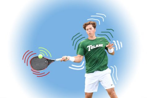 Tulane tennis tousles at third tournament