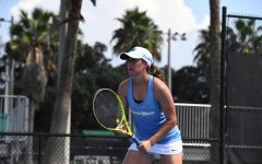 Green Wave tennis wraps up fall competition season in swinging fashion